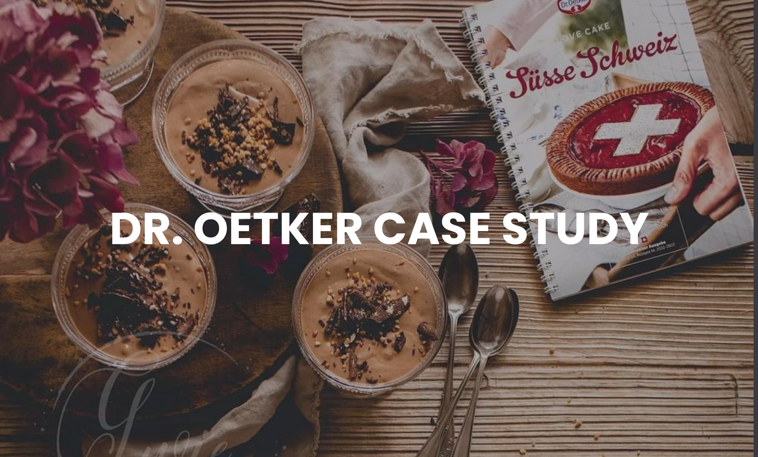 Dr. Oetker Case Study